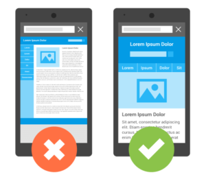 Responsive website voor een lage bounce rate
